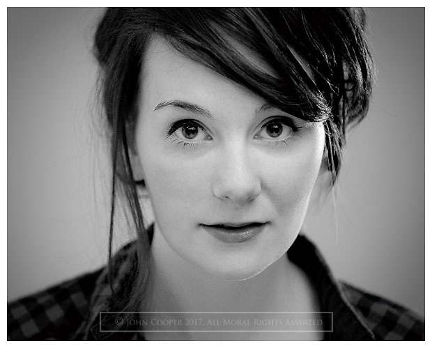 Headshot of actress Rebecca Elise.