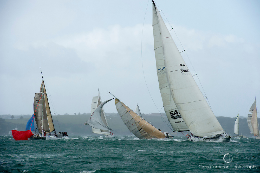 The start of the Coastal Classic from Auckland to Russel. 19/10/2012