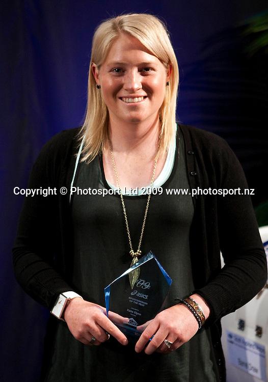 Sportswoman of the Year Katie Glynn (hockey). Sport Auckland Sporting Excellence Awards, Alexandra Park Function Centre, Auckland. Wednesday 9th December 2009. Photo: Simon Watts/PHOTOSPORT