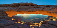 Mesa Arch, located in the Island in the Sky region of Canyon Lands, NP, is one of the iconic shots in the American Southwest.