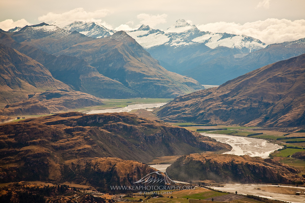 Matukituki Valley, New Zealand