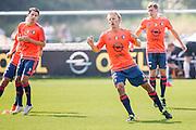 ROTTERDAM - Eerste training met Dirk Kuyt , voetbal , seizoen 2015/2016 , Sportcomplex Varkenoord , 02-07-2015 , Dirk Kuyt doet zijn eerste training mee