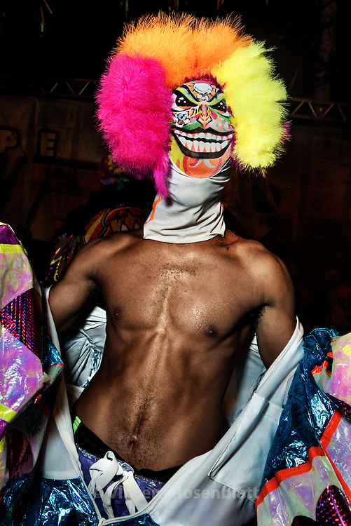 Bate-Bola party during Carnival 2015 in Oswaldo Cruz, Zona Norte of Rio de Janeiro. The Baile Funk is the soundtrack of the Bate-Bola nation.