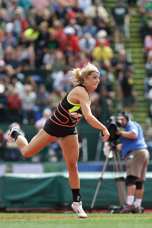 2012 USA Track & Field Olympic Trials: Brittany Borman, womens javelin