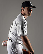 GLENDALE, ARIZONA - FEBRUARY 27:  Zach Duke #33 of the Chicago White Sox poses for a portrait during photo day on February 27, 2015 at Camelback Ranch in Glendale Arizona.  (Photo by Ron Vesely)    Subject:  Zach Duke