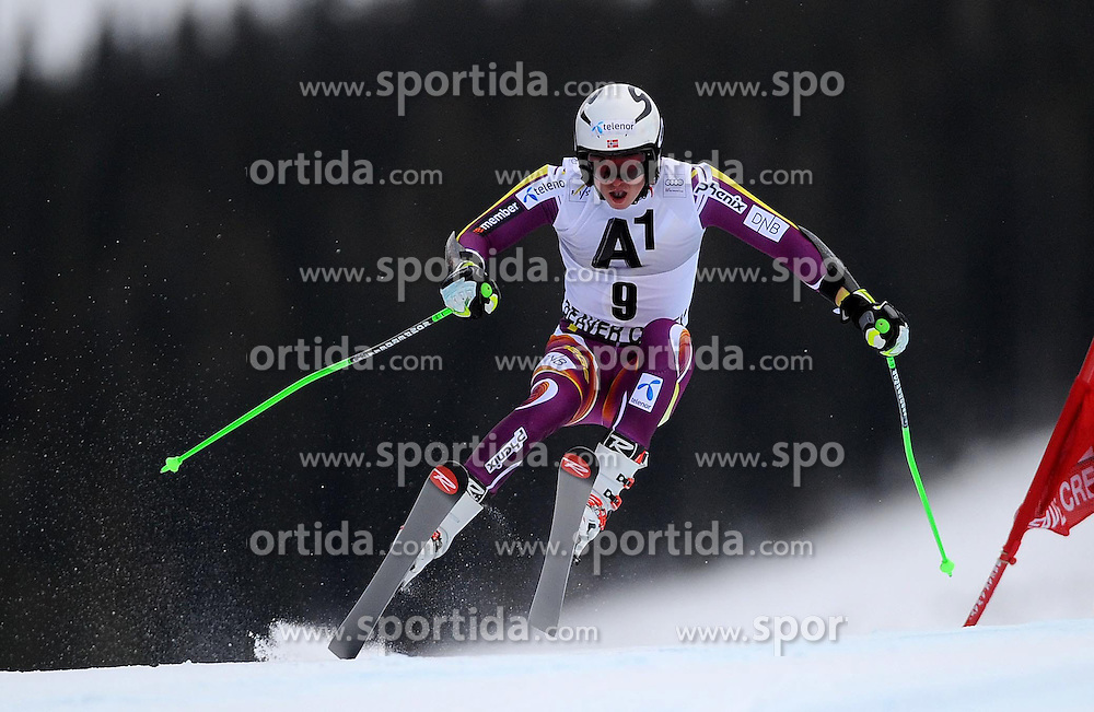 07.12.2014, Birds of Prey Course, Beaver Creek, USA, FIS Weltcup Ski Alpin, Beaver Creek, Herren, Riesenslalom, 1. Lauf, im Bild Henrik Kristoffersen (NOR) // Henrik Kristoffersen of Norway in actionduring the 1st run of men's Giant Slalom of FIS Ski World Cup at the Birds of Prey Course in Beaver Creek, United States on 2014/12/07. EXPA Pictures © 2014, PhotoCredit: EXPA/ Erich Spiess