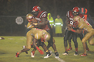 Lafayette High's Trey Shaw (9) vs. Shannon in Shannon, Miss. on Friday, September 20, 2013. Lafayette High won.
