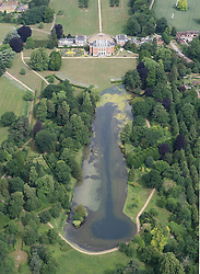 Image &copy;Licensed to i-Images Picture Agency. Aerial views. United Kingdom.<br /> Chevening House, weekend residence of the Foreign Secretary. Picture by i-Images