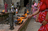 Patan's Durbar Square. Patan. , Offering with 100,000 candles. B1276