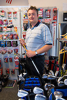 Golf professional at the Hainsworth Park Golf Club Peter Myers