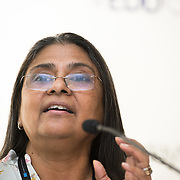 03 June 2015 - Belgium - Brussels - European Development Days - EDD - Inclusion - Building a caring world-A common challenge for Europe and emerging countries - Sheela Patel , Chair of the Board , Shack - Slum Dwellers International (SDI) © European Union
