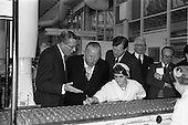 1963 - Lord Mayor of Birmingham visits Fry-Cadbury factory,  Dublin