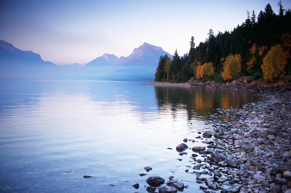Montana, Glacier National Park at dawn