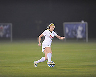 Ole Miss' Sydney Eddy (13) vs. Jackson State in NCAA Soccer Tournament in Oxford, Miss. on Friday, November 15, 2013. Ole Miss won 9-0.