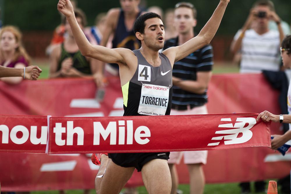 Falmouth Road Race: Falmouth Elite Mile race, David Torrence wins,