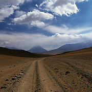 Road in southwest Bolivia