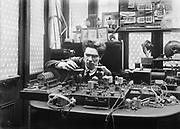 Archibald Montgomery Low, Engineer, Physicist, Inventor, London, England, 1923