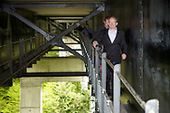 09.05.11. Visit Scotland chairman, Dr Mike Cantlay (right) visits Highalnd Fling Bungee installation at Killiecrankie.