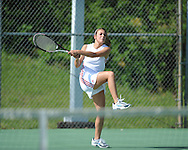Lafayette High vs. Pontotoc in MHSAA Class 4A tennis playoff action in Oxford, Miss. on Monday, April 22, 2013.