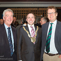 (l to r) Brian Craig (former Chairperson, Volvo Dún Laoghaire Regatta), Councillor Cormac Devlin (An Cathaoirleach, Dún Laoghaire-Rathdown County Council), and Harry Herman (CEO, the Irish Sailing Association) attending the official launch of Volvo Dún Laoghaire Regatta 2017 in the National Maritime Museum of Ireland on Wednesday evening. The Regatta will be among the biggest mass-participatory sporting event in Ireland this year (eclipsed for numbers only by the city marathons).