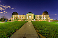 Griffith Observatory, Griffith Park is a large municipal park at the eastern end of the Santa Monica Mountains, Los Angeles, California