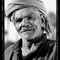 Cairo, Egypt  June 2008<br /> Saeyd, 70 years old, farmer.<br /> Photo: Ezequiel Scagnetti