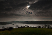 Solar Eclipse Menai Bridge 2015