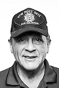 Frank Puente<br /> Army<br /> E-4<br /> Infantryman<br /> 05/26/67 - 05/23/69<br /> Vietnam War<br /> <br /> <br /> Model Release: Yes<br /> Photo by: Stacy L. Pearsall