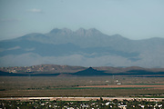 4 Peaks as seen from the north side of Camelback Mountain in Paradise Vallery, Arizona.