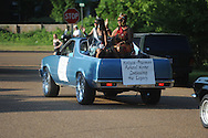 The Juneteenth Celebration parade in Oxford, Miss. on Friday, June 18, 2010.
