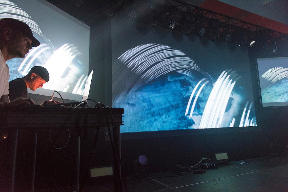 NOCTURNE 1, Musée d'art contemporain de Montréal (MAC), Salle Principale, Lee Gamble & Dave Gaskarth.