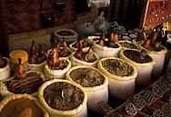 Spice Shop along Central Asias Silk Route in Bokhara, Uzbekistan