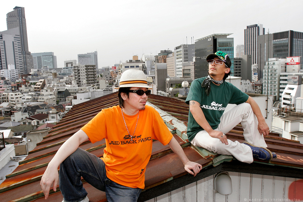 """Laid Back Swing"" fashion label designers Sawaguchi Tetuya and Taku Kosuge"