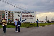 Revolutionary sign in Pinar del Rio, Cuba.