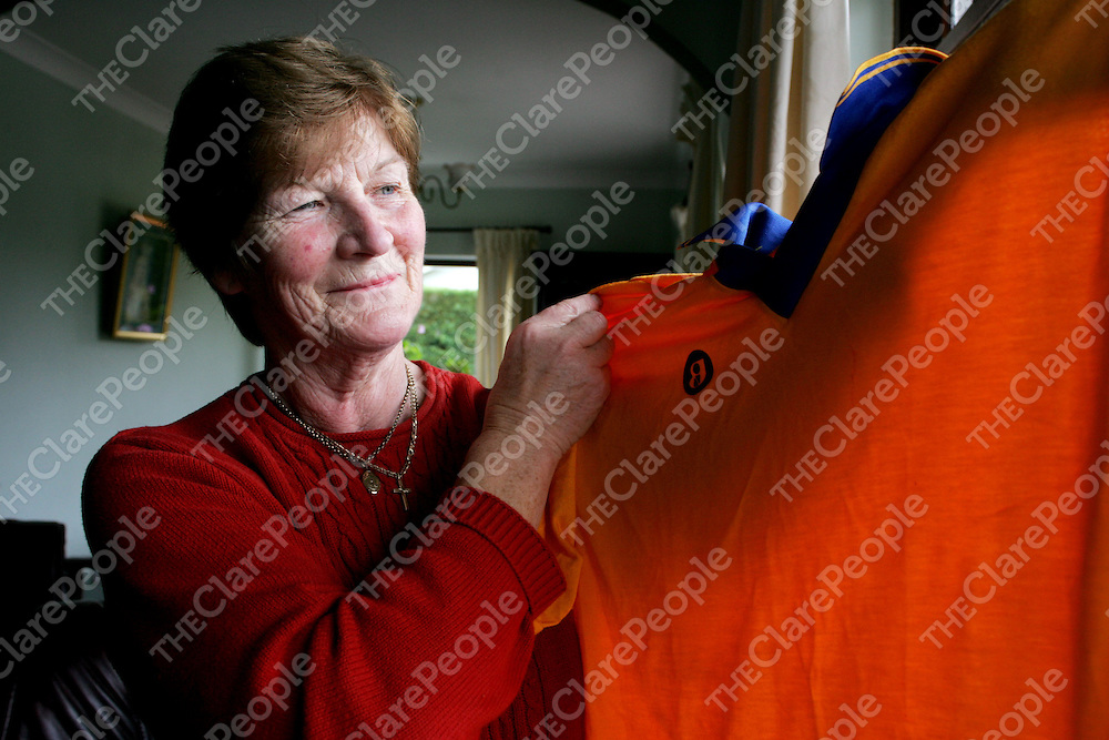 Kitty McNicholas pictured at home in Ennis on Friday. Pic. Brian Arthur/ Press 22.