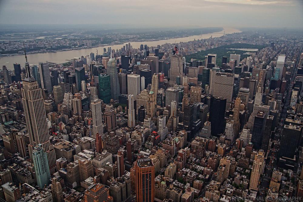 Midtown Manhattan & Hudson River (2)