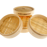 4 piece bamboo steamer