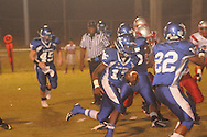 Water Valley's K.J. Lee (17) vs. South Pontotoc in Water Valley, Miss. on Friday, October 5, 2012. Water Valley won 47-20.