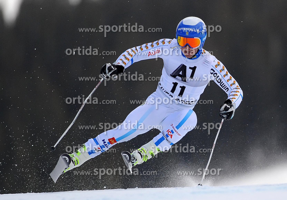 07.12.2014, Birds of Prey Course, Beaver Creek, USA, FIS Weltcup Ski Alpin, Beaver Creek, Herren, Riesenslalom, 1. Lauf, im Bild Matts Olsson (SWE) // Matts Olsson of Sweden in actionduring the 1st run of men's Giant Slalom of FIS Ski World Cup at the Birds of Prey Course in Beaver Creek, United States on 2014/12/07. EXPA Pictures © 2014, PhotoCredit: EXPA/ Erich Spiess