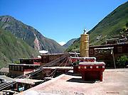Tibet from roof top
