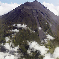 Aerial view of Pico Mount Volcano, Pico Island&amp;#xA; Azores Islands, Portugal, North Atlantic Ocean&amp;#xA;&copy; KIKE CALVO / V&amp;W<br />
