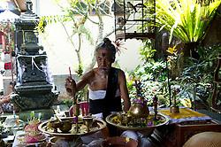 Traditional Balinese Wedding ceremony in Kayu Putih (White Wood)
