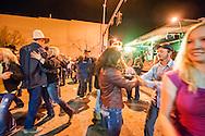 Street dance, Miles City Bucking Horse Sale, Montana