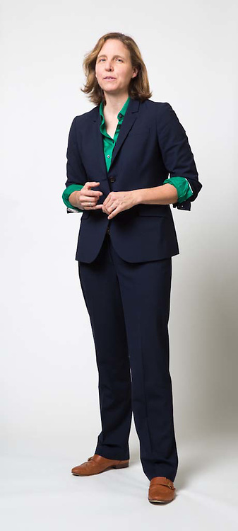 Megan Smith poses for a portrait in Washington, DC, on October 17, 2014.