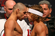 January 31, 2014: UFC 169 Weigh-In's