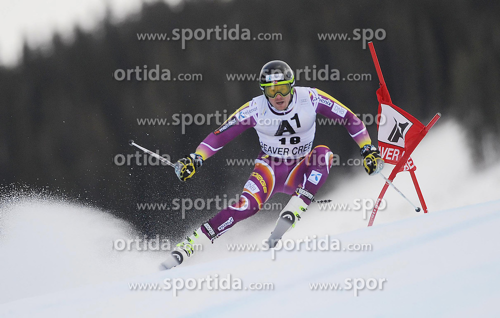 07.12.2014, Birds of Prey Course, Beaver Creek, USA, FIS Weltcup Ski Alpin, Beaver Creek, Herren, Riesenslalom, 1. Lauf, im Bild Kjetil Jansrud (NOR) // Kjetil Jansrud of Norway in actionduring the 1st run of men's Giant Slalom of FIS Ski World Cup at the Birds of Prey Course in Beaver Creek, United States on 2014/12/07. EXPA Pictures © 2014, PhotoCredit: EXPA/ Erich Spiess