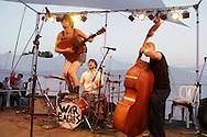 Langhorne Slim performs at Pickathon, the annual roots music festival near Portland, Oregon.