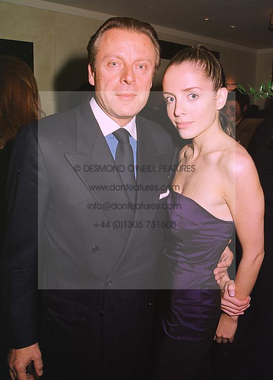 MR RICCARDO MAZZUCCHELLI former husband of Ivana Trump and MISS GISELE ...