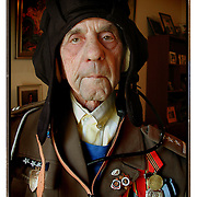 A WWII tanker driver, subject of a novel by his family.
