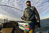Anglers Fishing Jetties & Piers